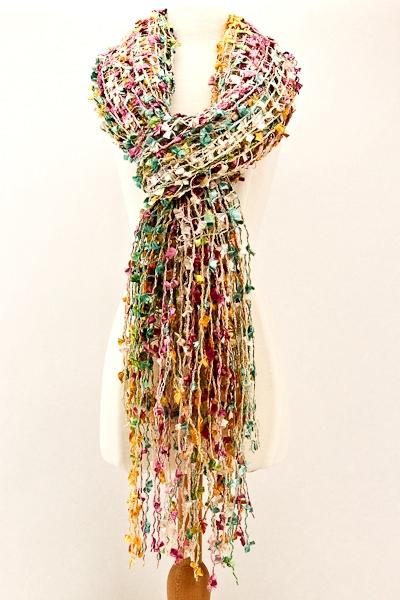 Open Weave Scarf - Scarves