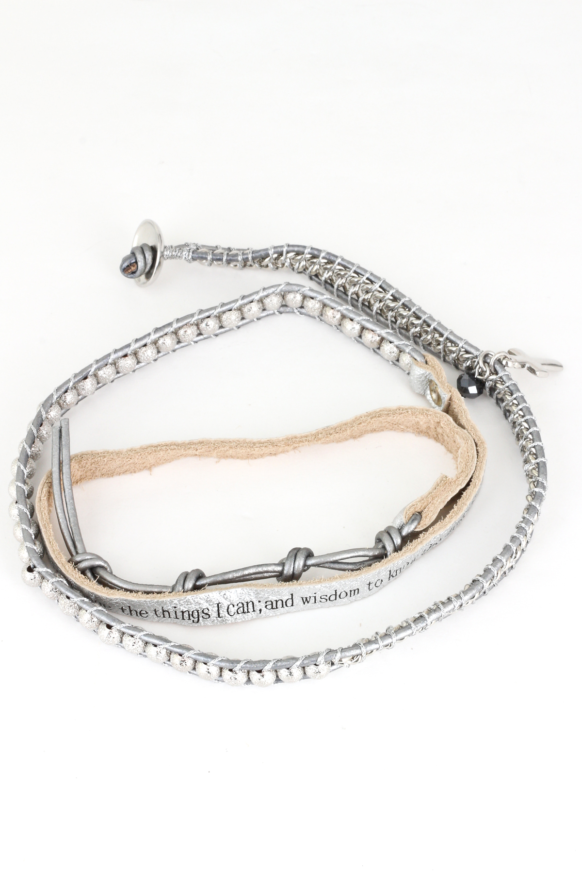 serenity prayer wrap bracelet bracelets