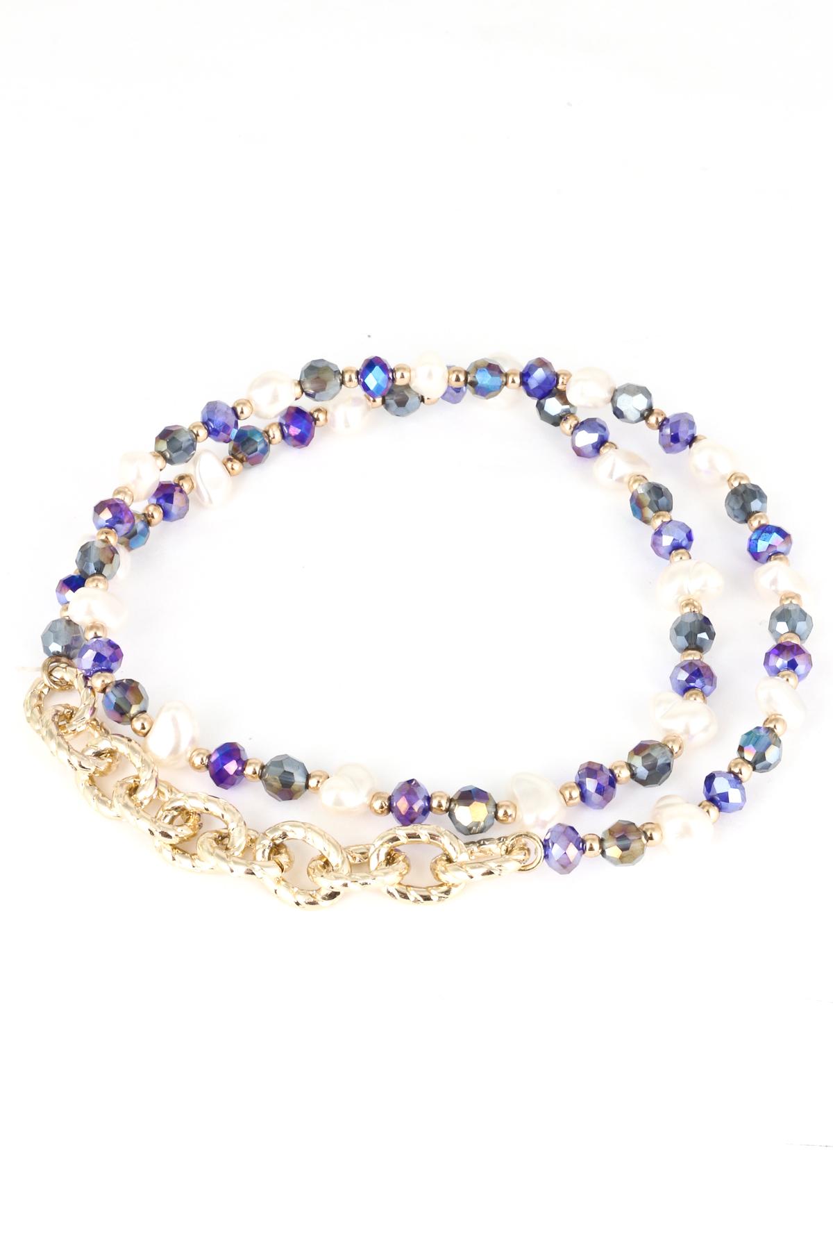 beaded wrap stretch bracelet bracelets