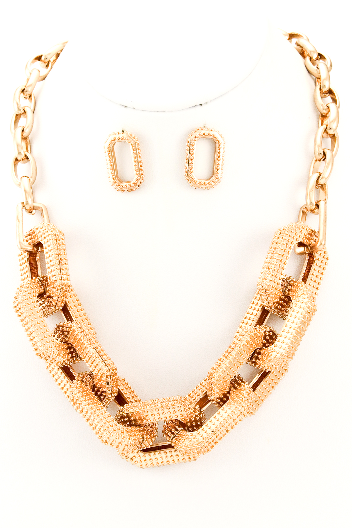Metal Chunky Chain Necklace