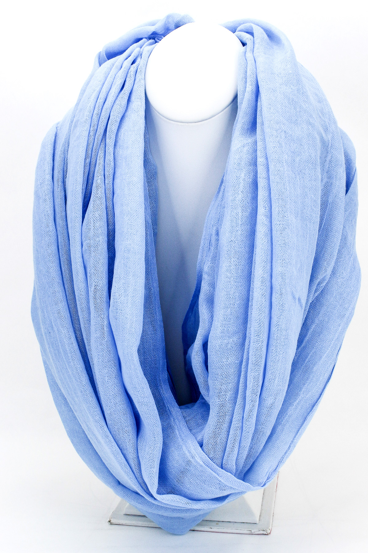 Woven Infinity Scarf - Scarves