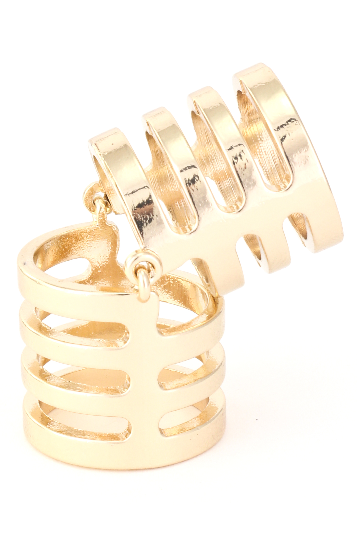 jewelry caged made raw pin by bangle rings rework quartz creative