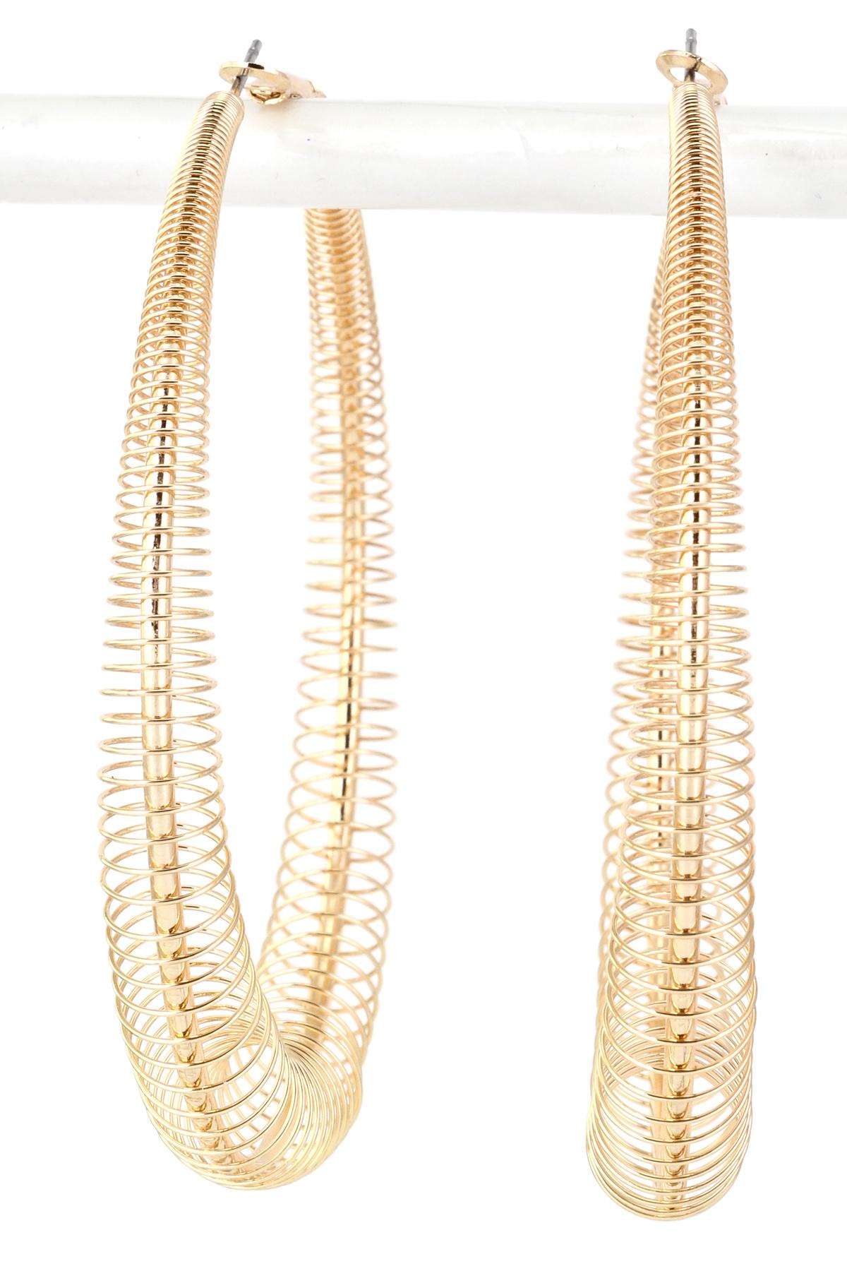 2 5 Spring Hoop Earring