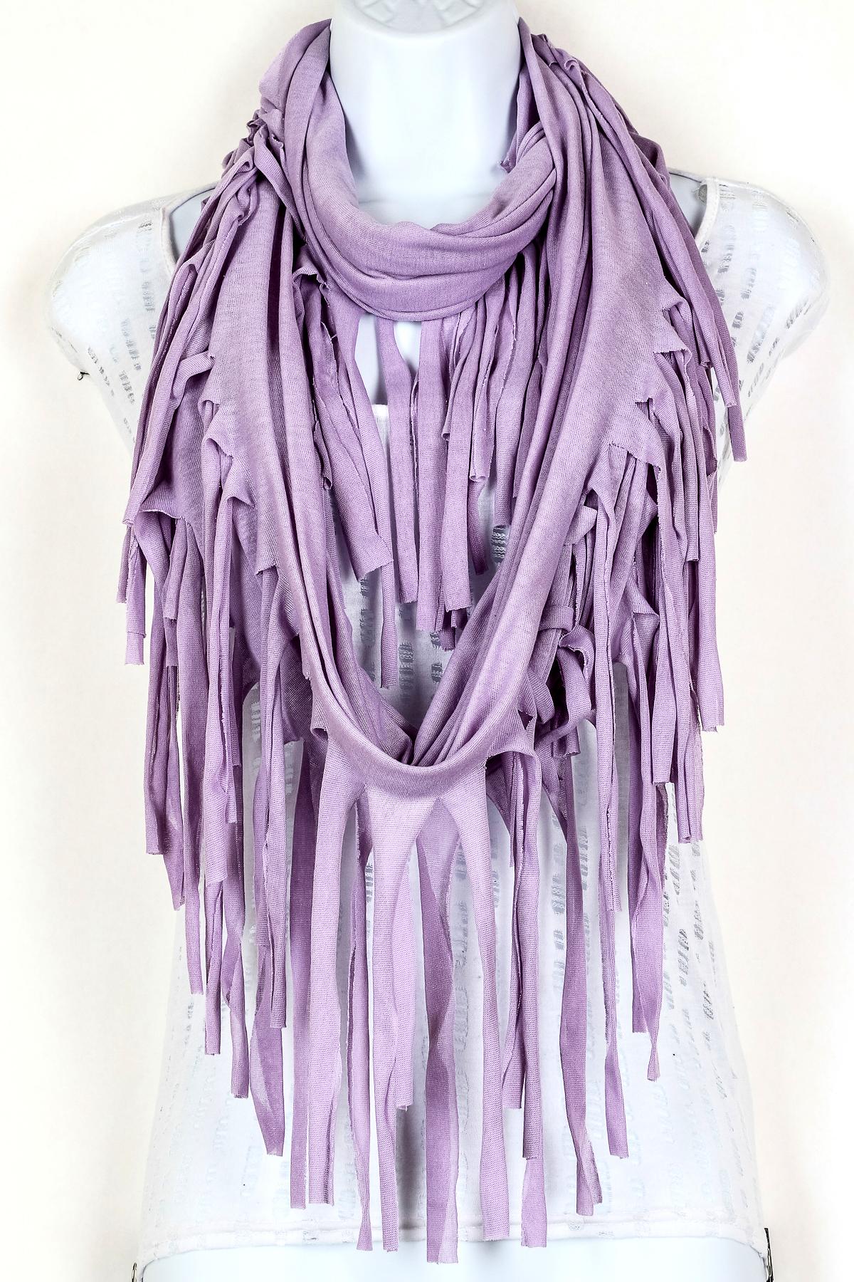 fringe infinity scarf scarves