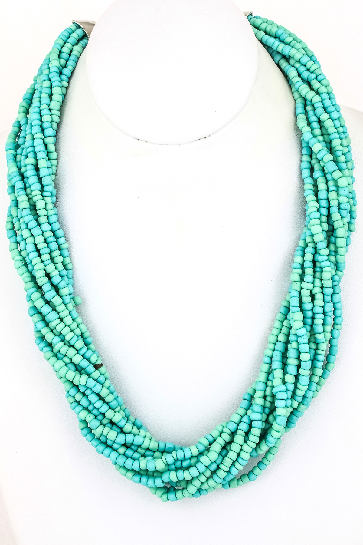 twelve strand seed bead necklace necklaces