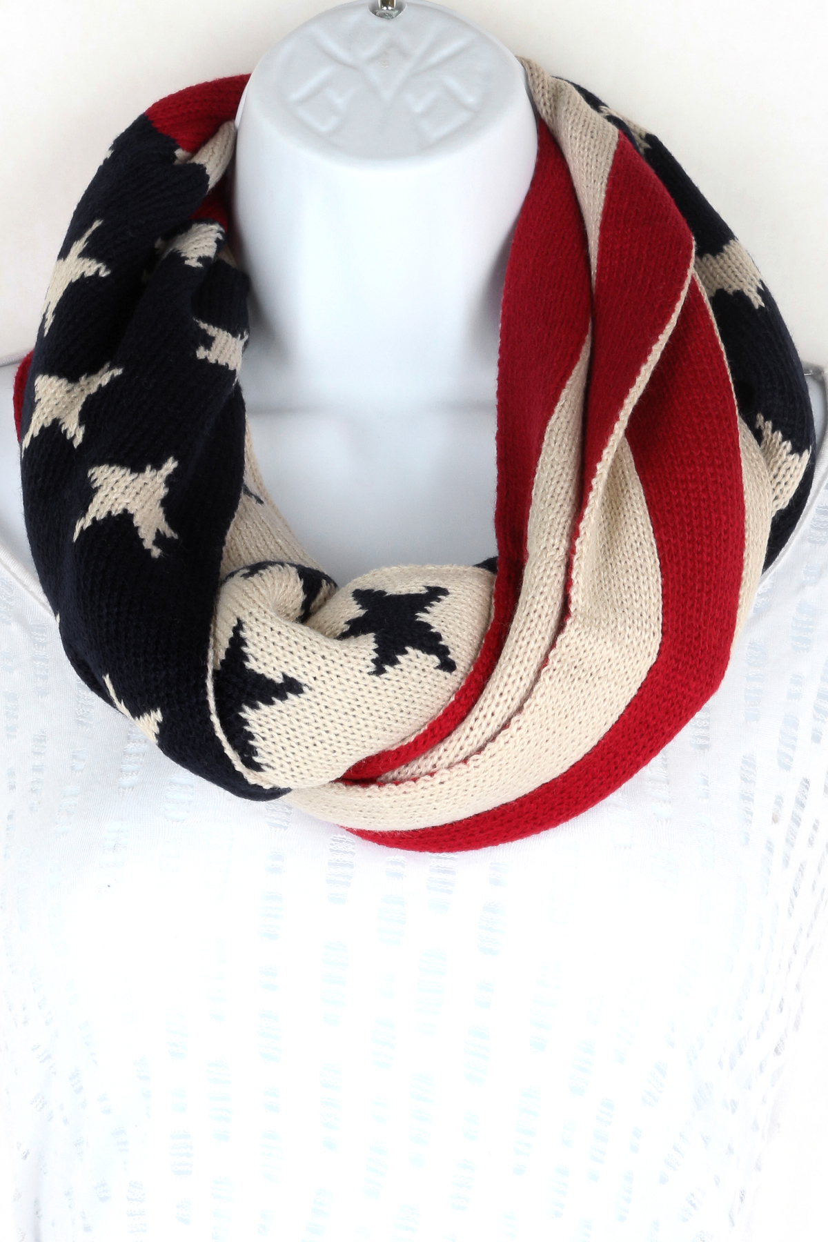 American Infinity Flag Scarf - Scarves
