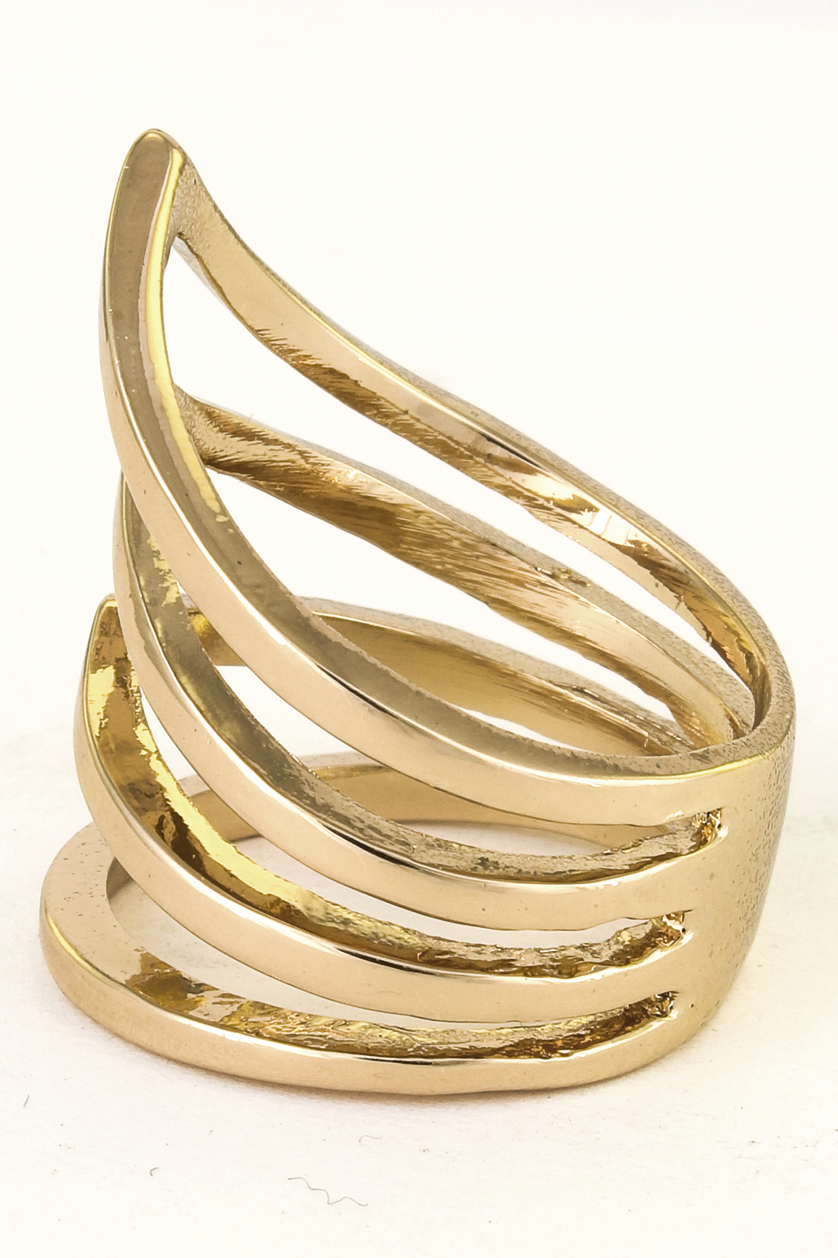 Chevron Multi Layered Ring Rings