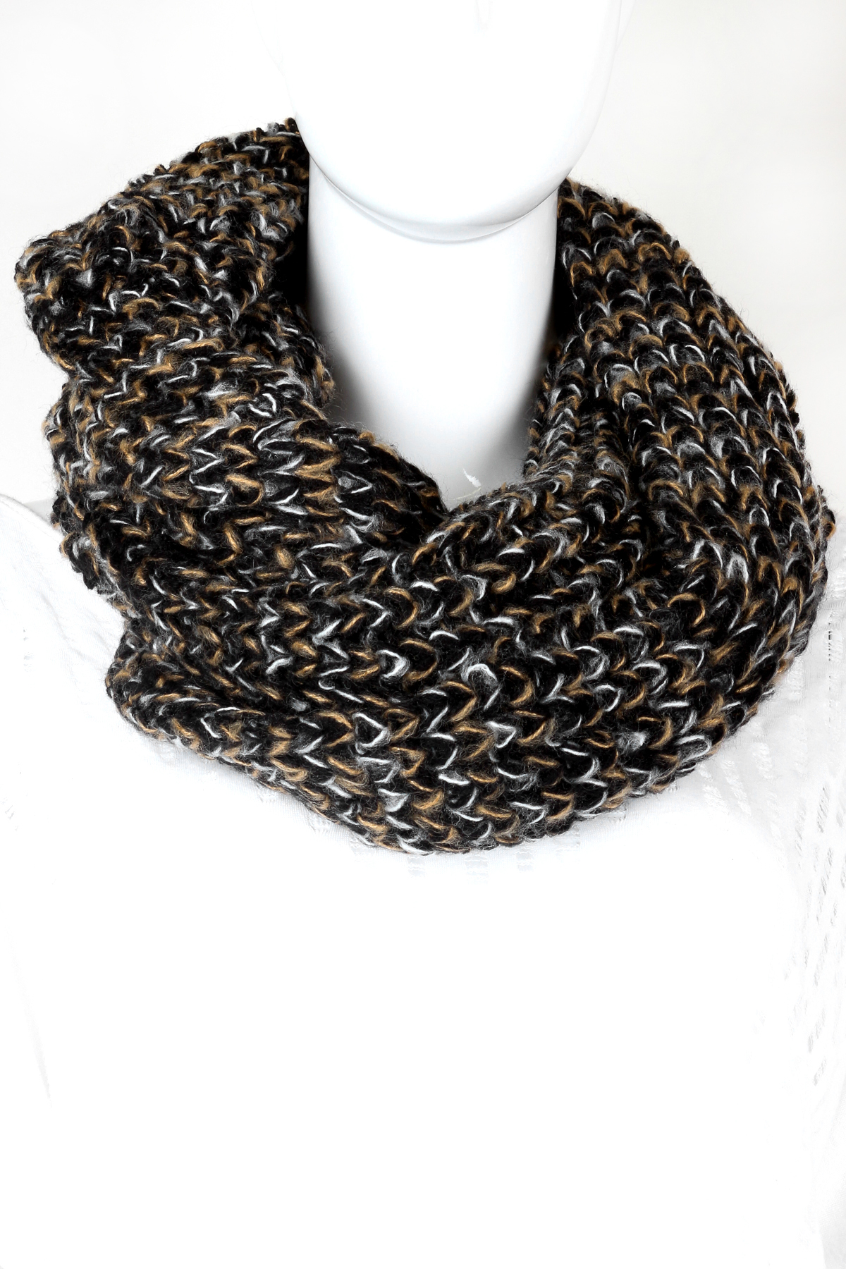 knitted infinity scarf scarves