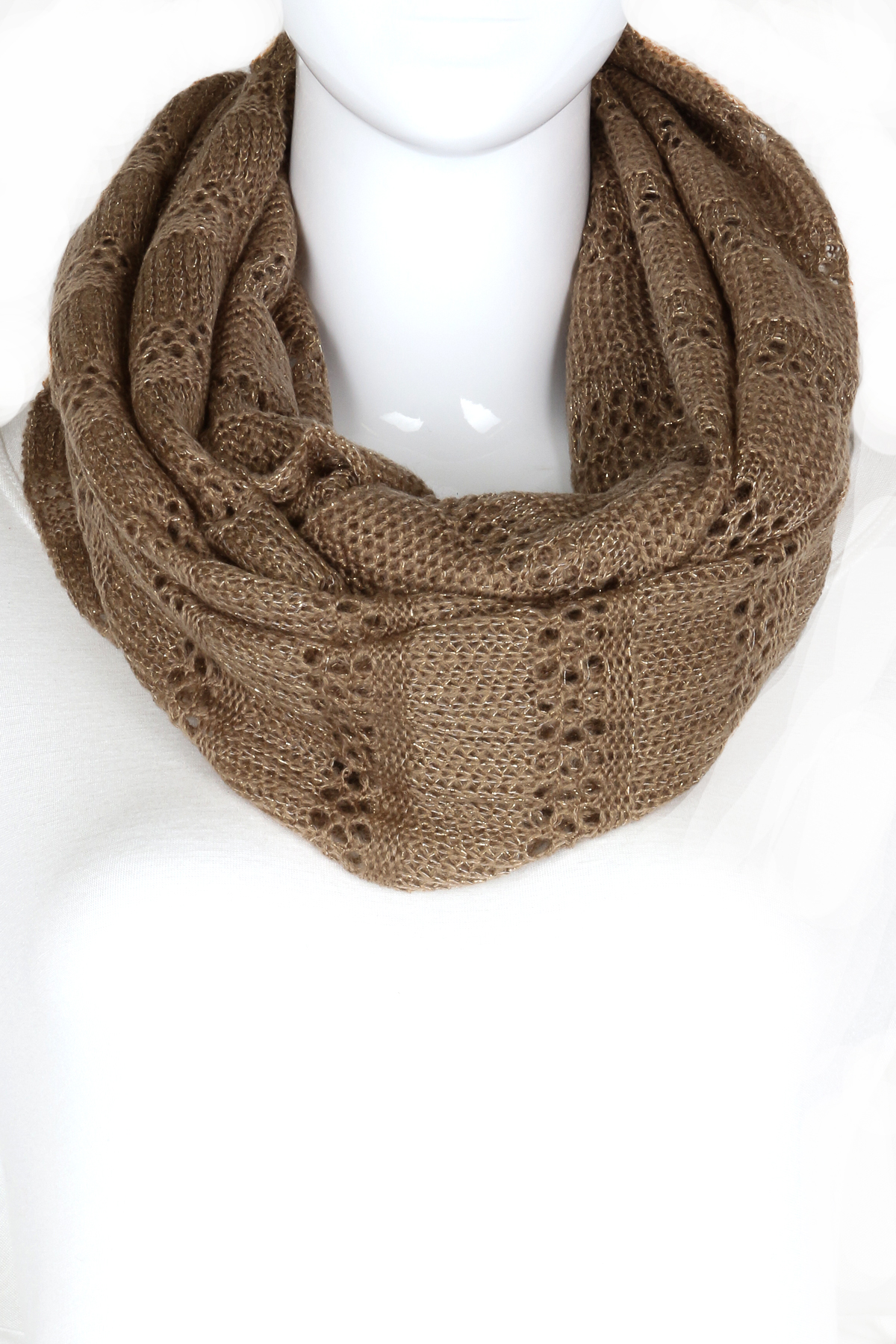 how to finish a knitted infinity scarf