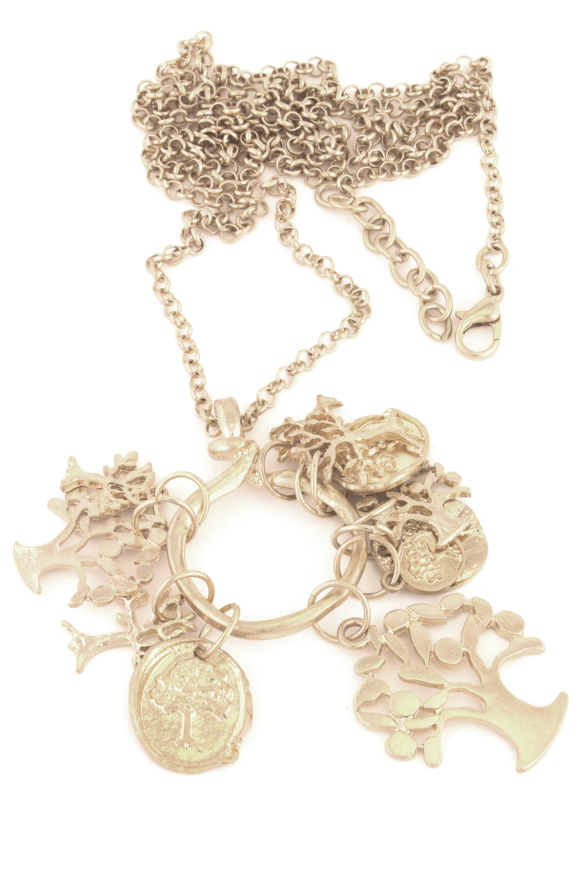 assorted charms chain link necklace necklaces