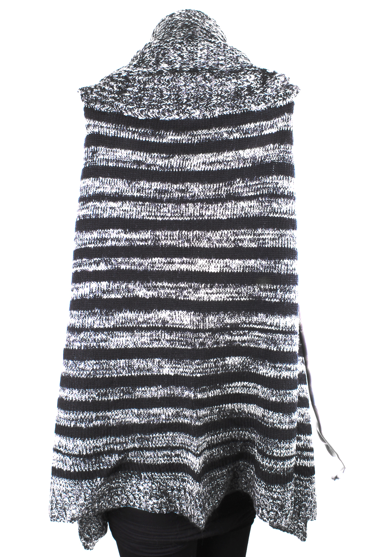 Knitting Pattern Striped Poncho : Knit Striped Poncho - Scarves