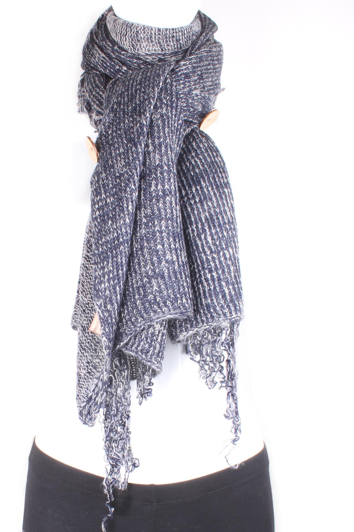 knit button poncho scarf scarves