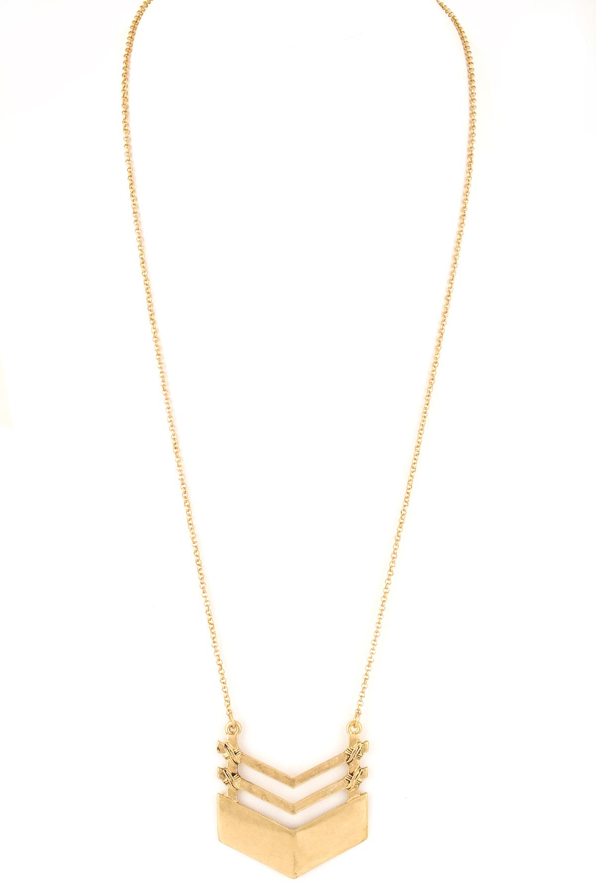 chevron pendant necklace necklaces