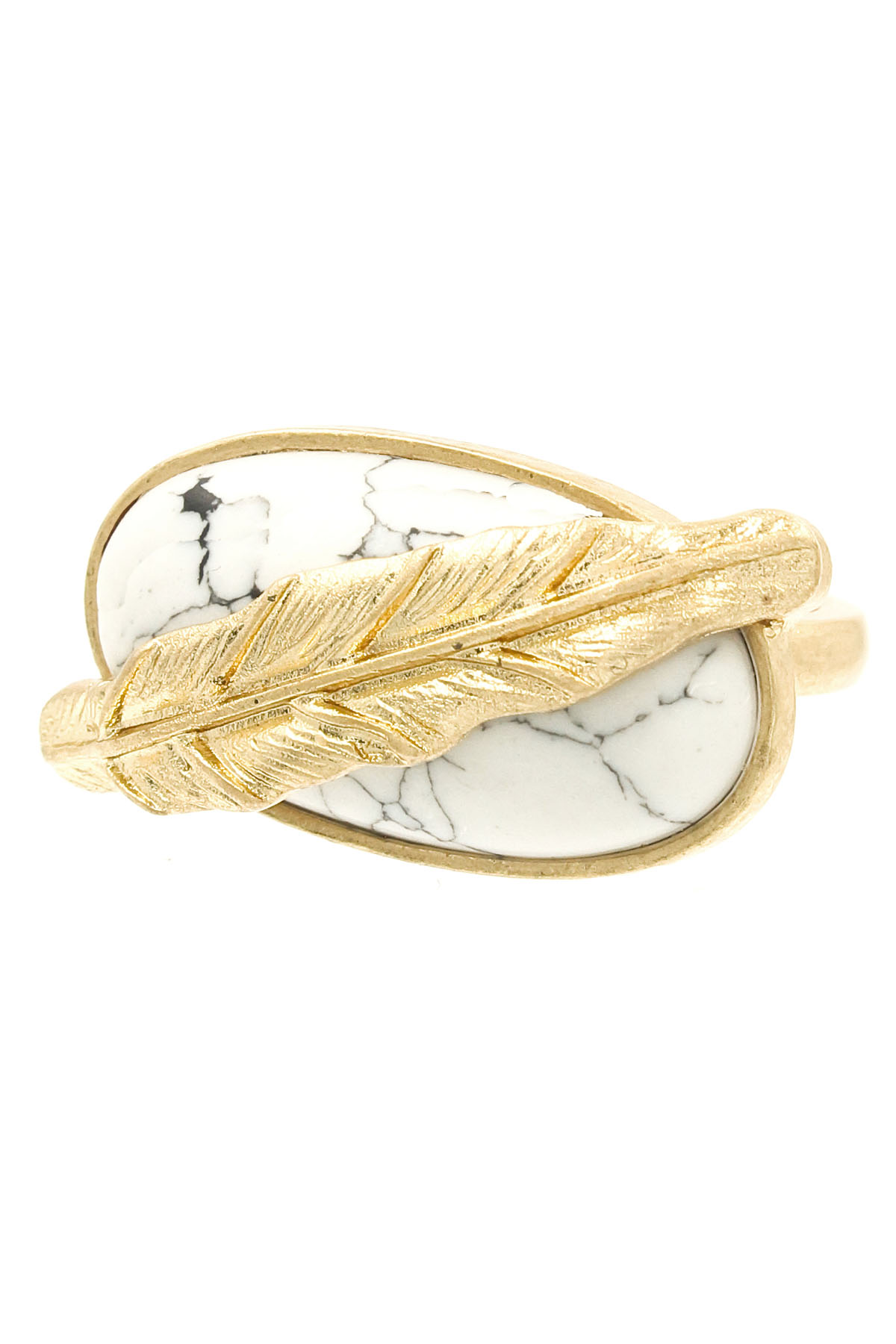 textured feather ring rings