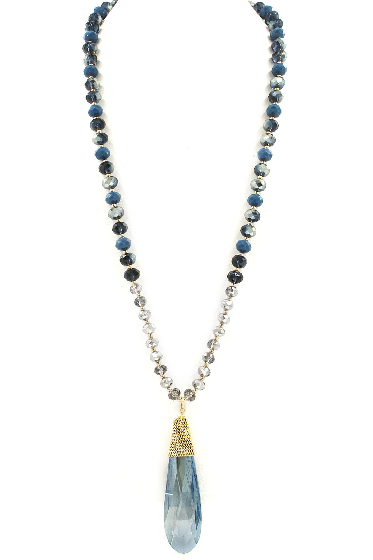 glass bead pendant necklace necklaces