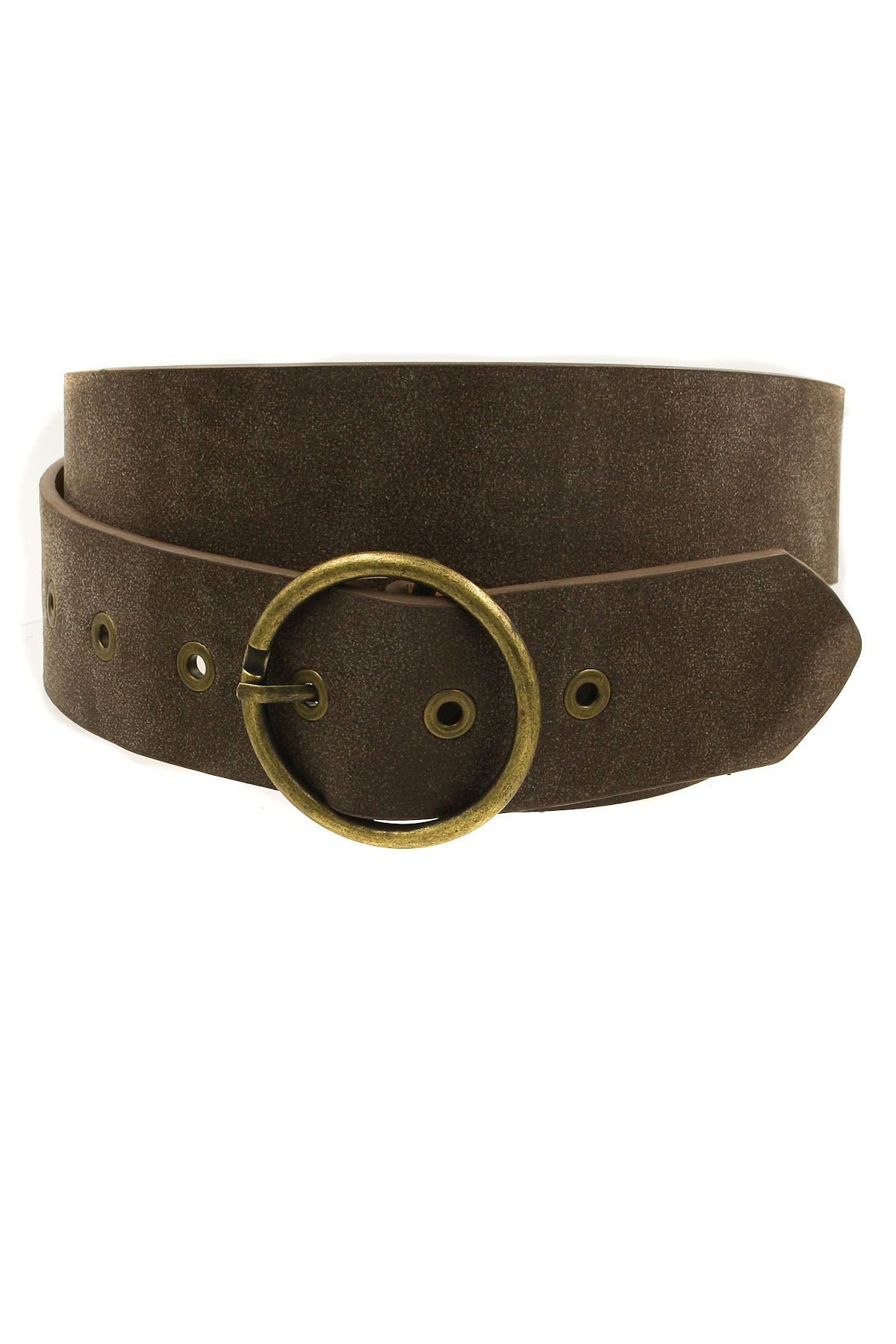 grommeted faux leather belt belts