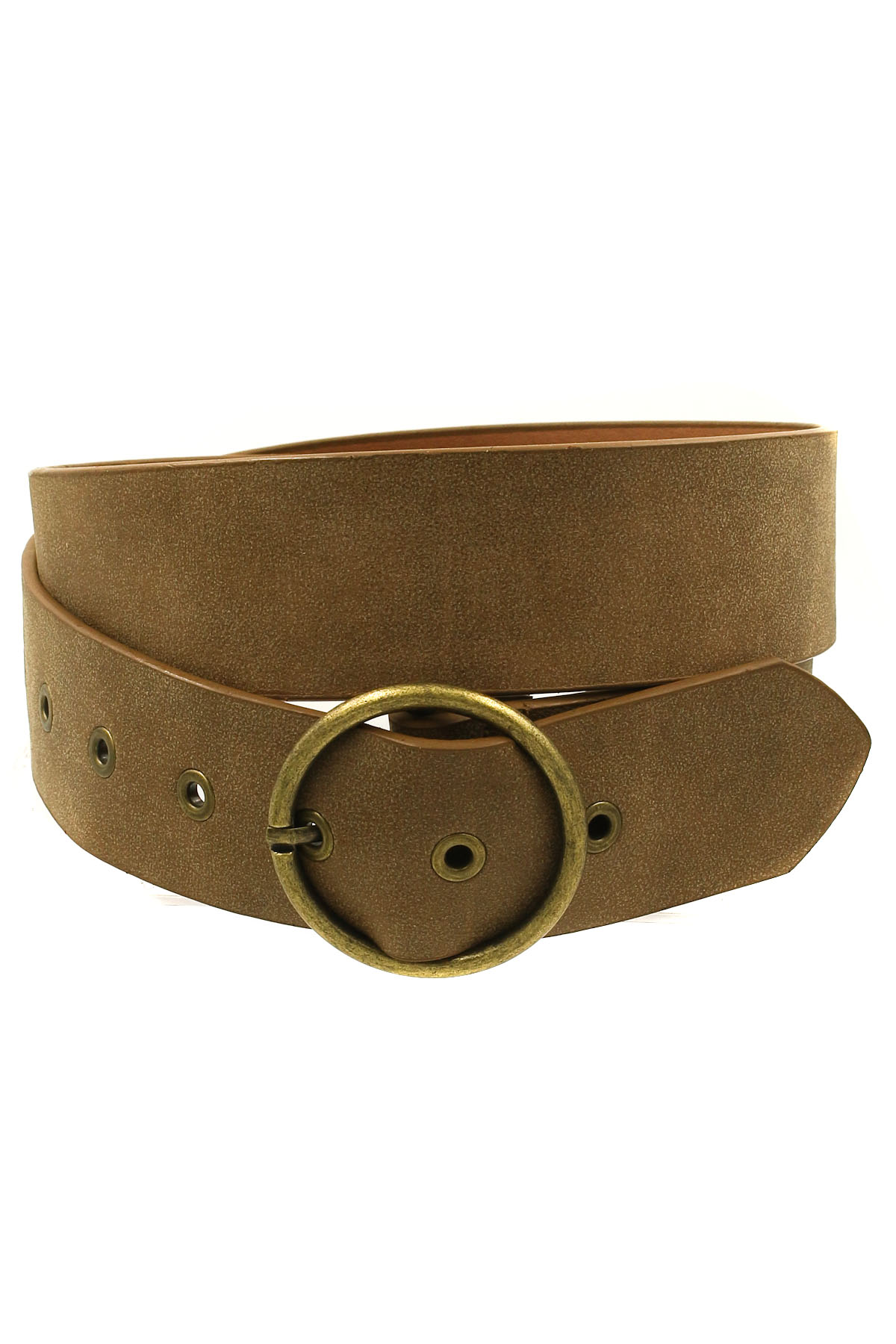 grommeted faux leather belt belts
