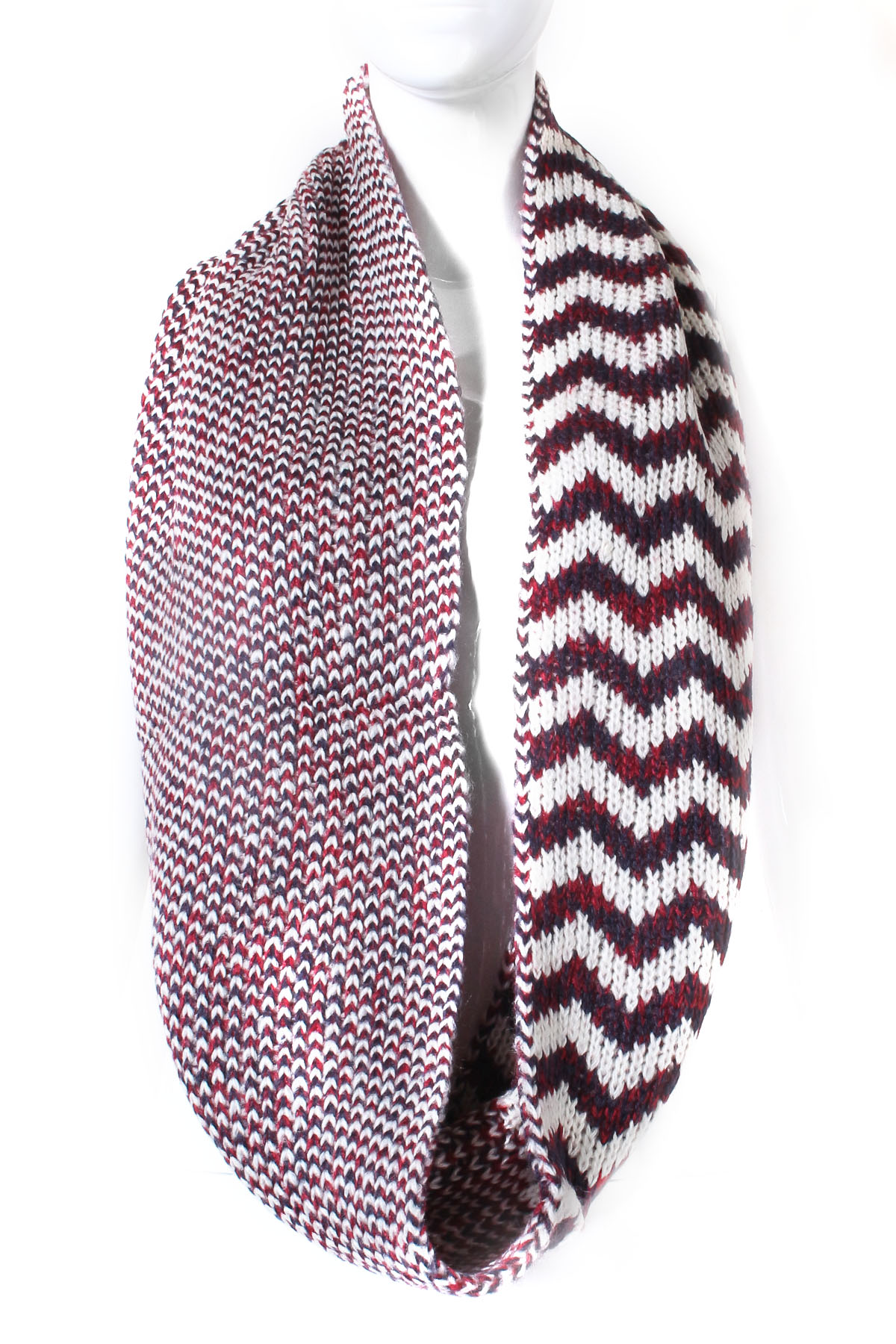 chevron pattern infinity scarf scarves