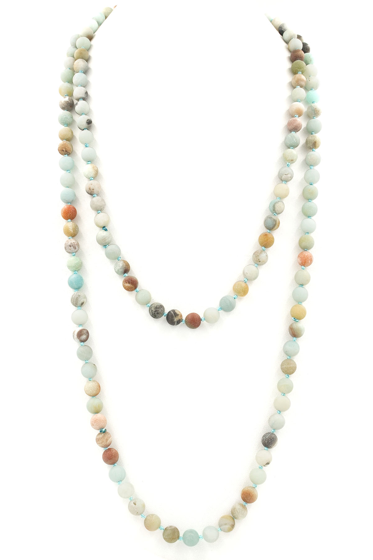 Marble Stone Jewelry : Natural stone wrap necklace necklaces