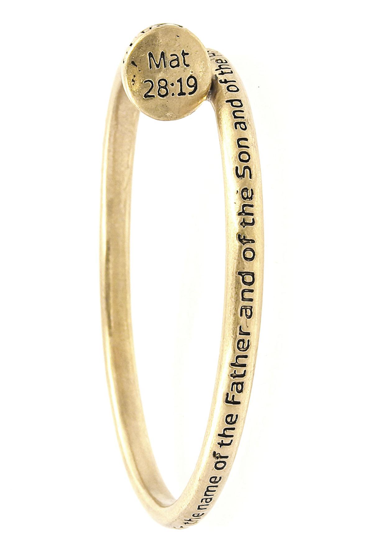spiritual bangle bracelet