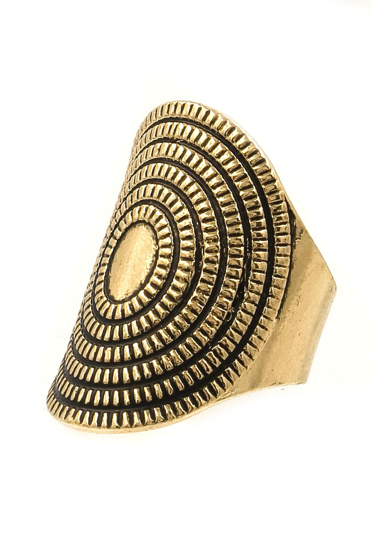 Textured Metal Ring - Rings