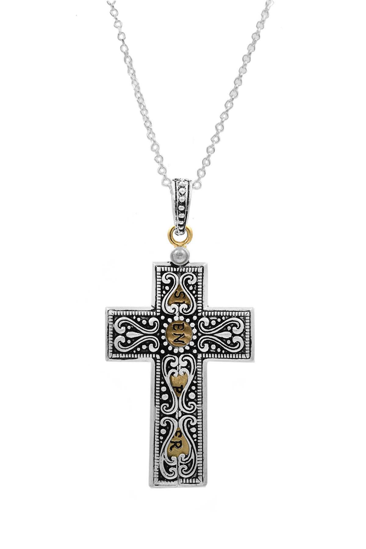 serenity prayer engraved locket necklace necklaces. Black Bedroom Furniture Sets. Home Design Ideas
