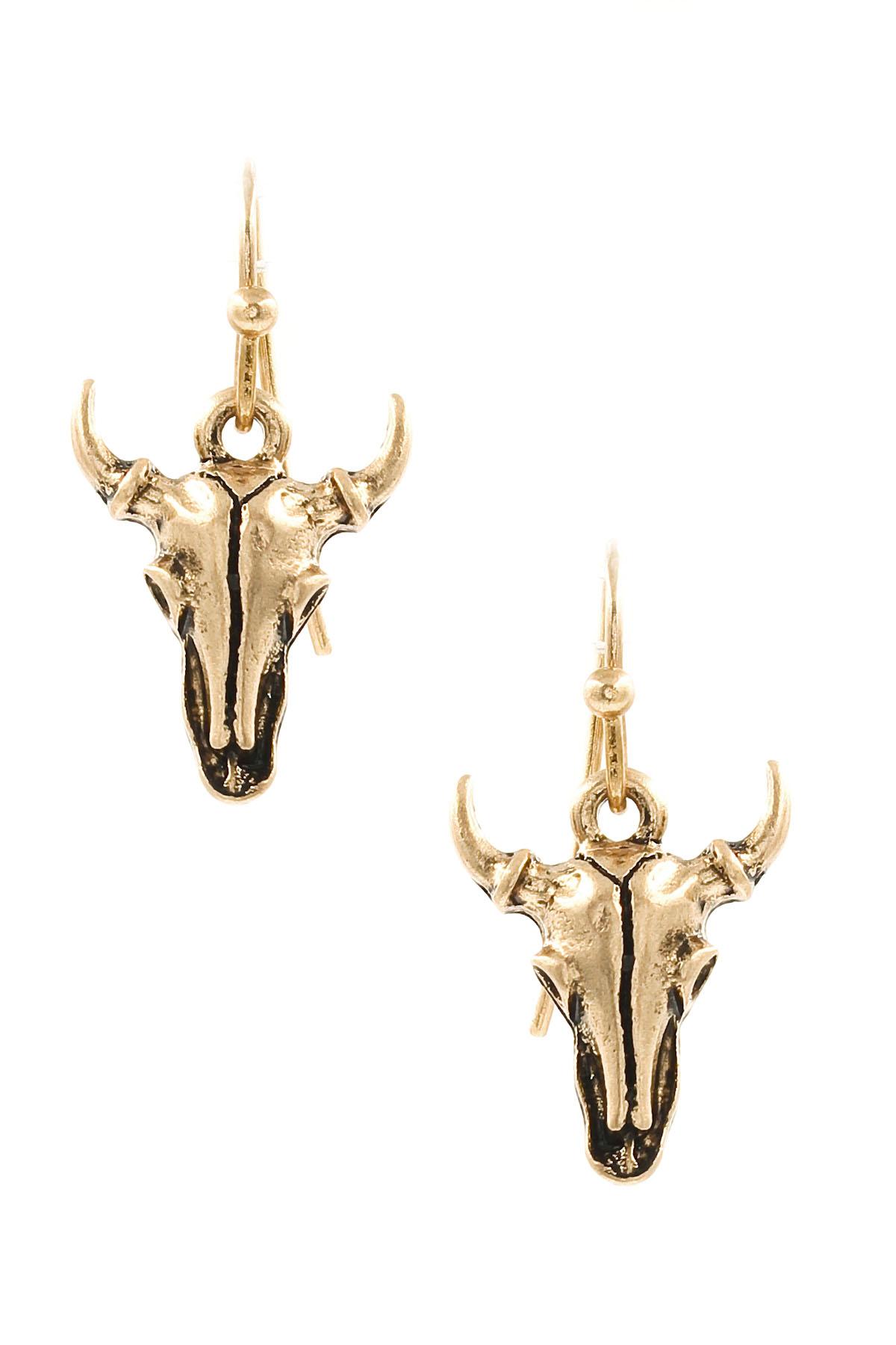Ox Cross Pendant Necklace Set - Necklaces