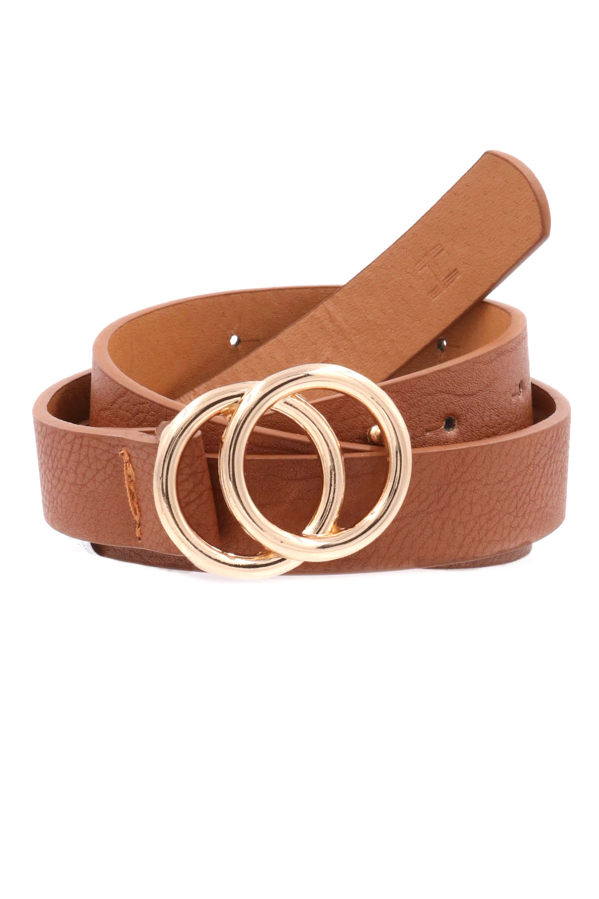 Double O Ring Buckle Belt - Belts