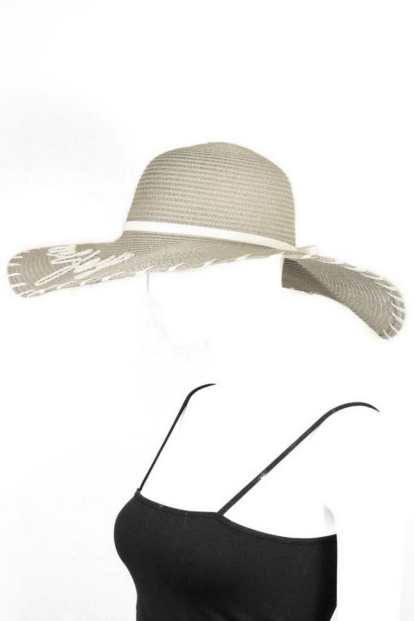 36c616a2e Wifey' Whipstitch Floppy Hat - Hats