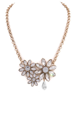 Floral Jewel Necklace
