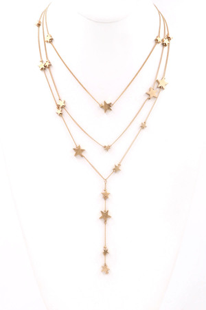 Star Charm Y Necklace